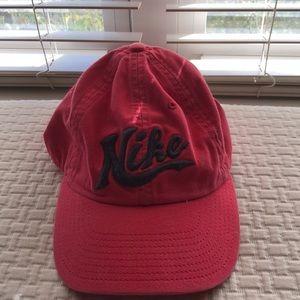 Nike pink baseball hat